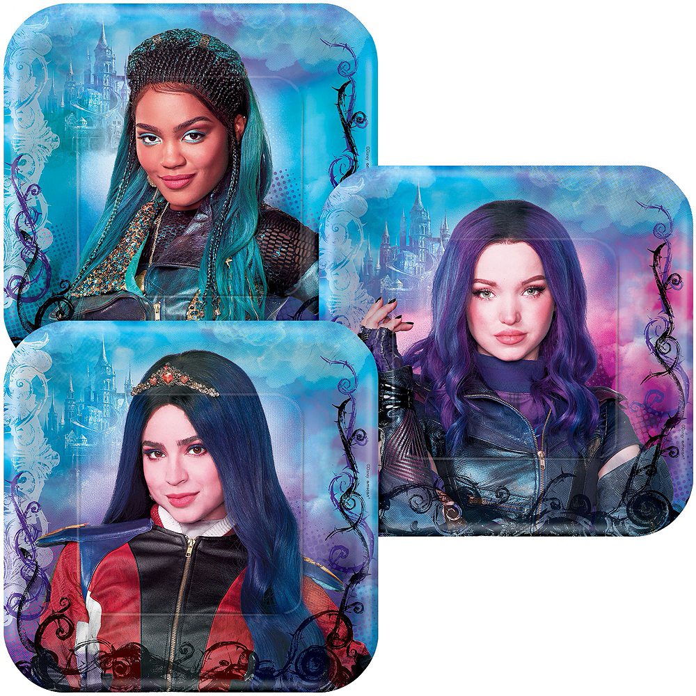 Descendants 3 Tableware Kit for 16 Guests Image #2