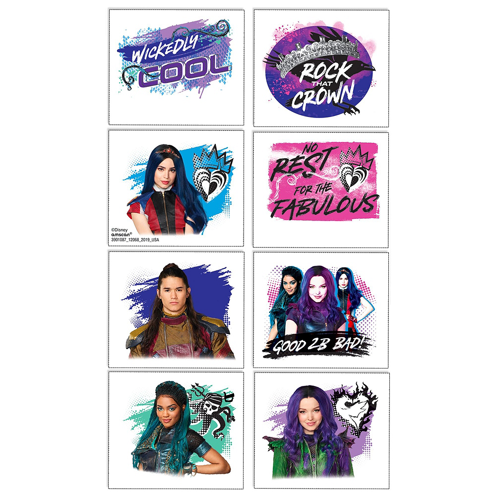 Descendants 3 Favor Kit for 8 Guests Image #4