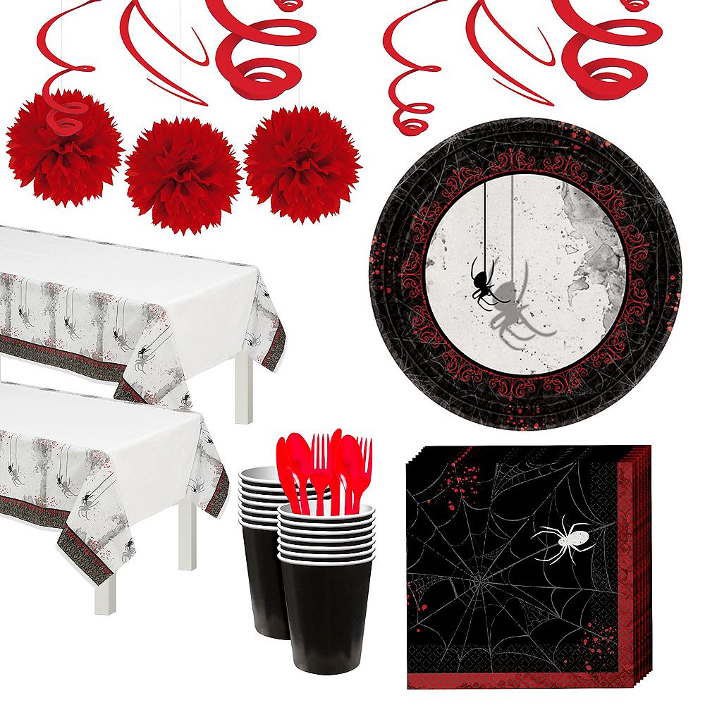 Super Dark Manor Tableware Kit for 16 Guests Image #1