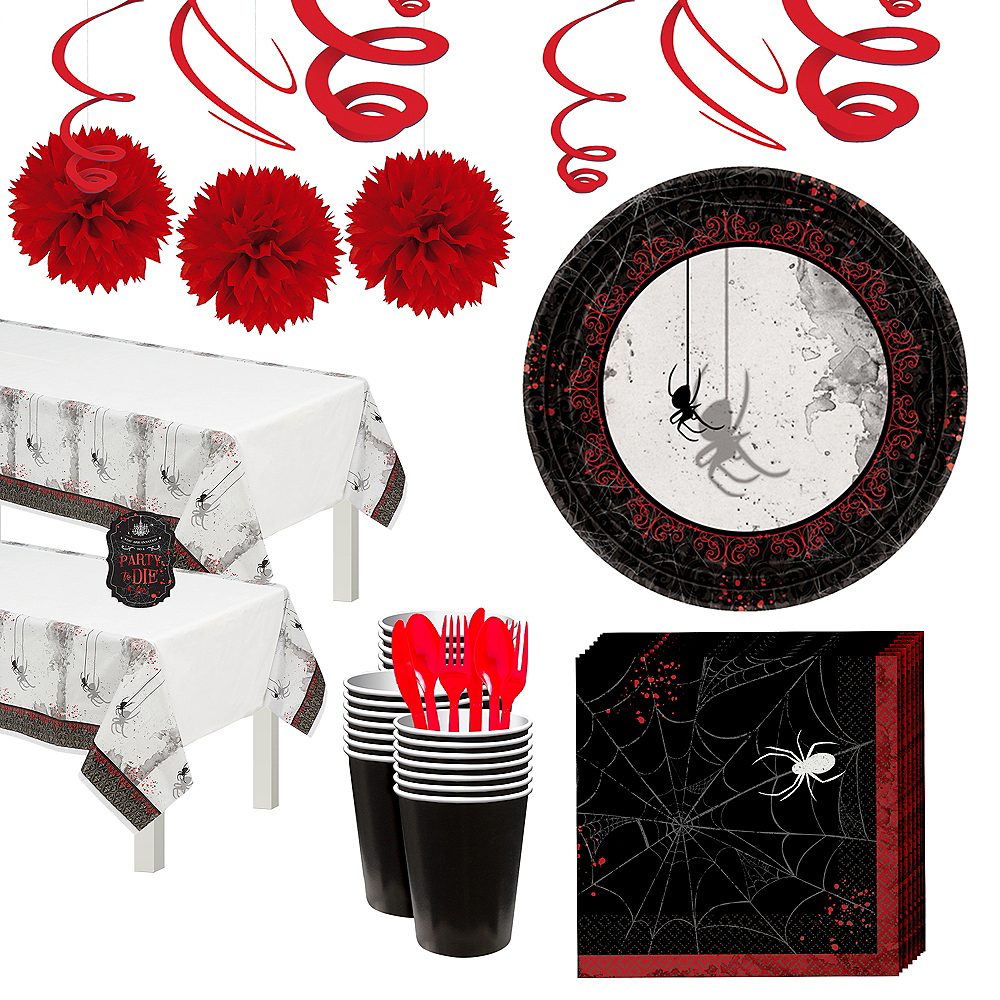 Dark Manor Party Kit for 32 Guests Image #1