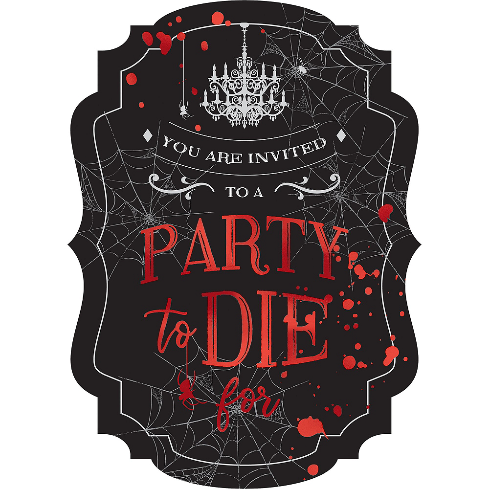Dark Manor Party Kit for 32 Guests Image #9