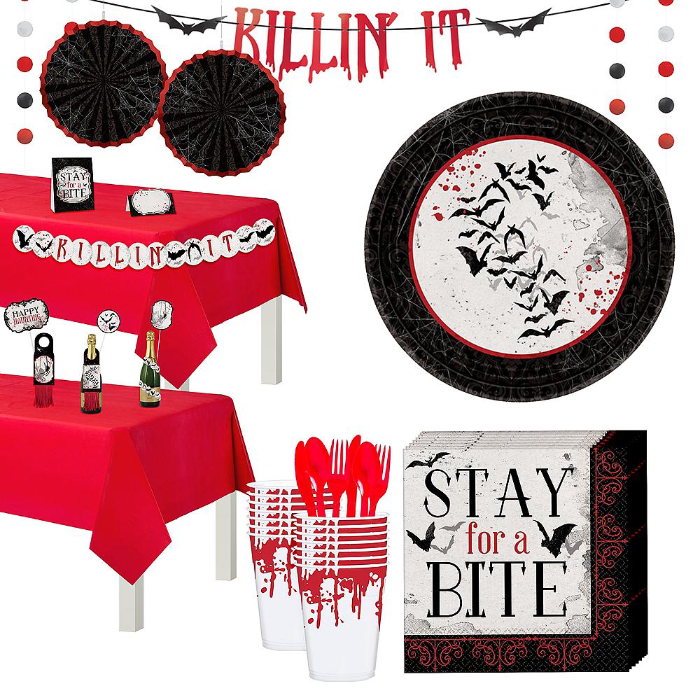 Dark Manor Dessert Tableware Kit for 16 Guests Image #1
