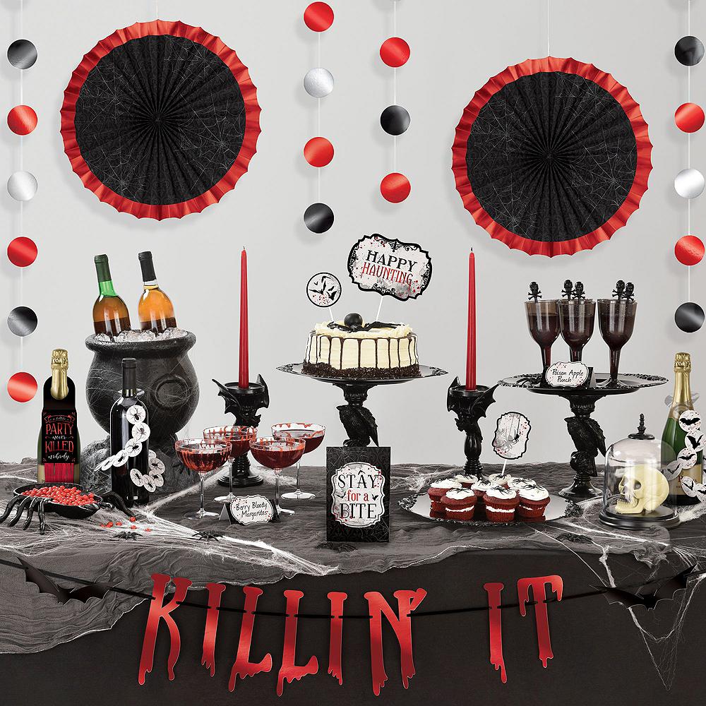 Dark Manor Dessert Tableware Kit for 16 Guests Image #7