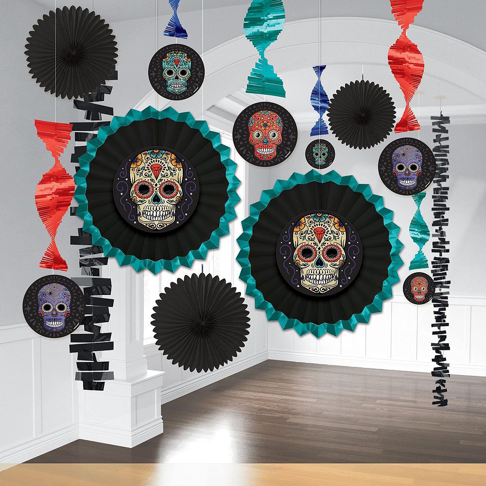 Super Sugar Skull Tableware Kit for 36 Guests Image #8