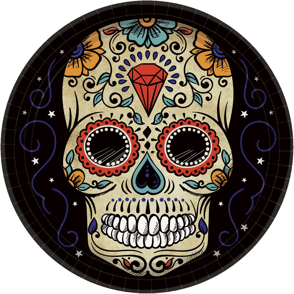 Sugar Skull Party Kit for 54 Guests Image #2