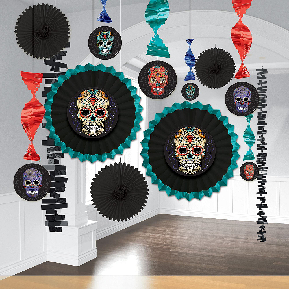 Sugar Skull Party Kit for 54 Guests Image #8