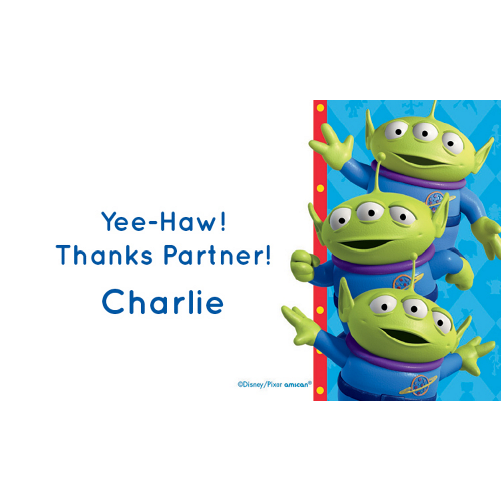 Custom Toy Story 4 Thank You Notes Image #1