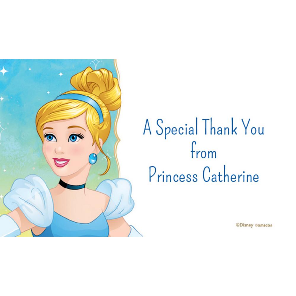 Custom Cinderella Thank You Notes Image #1