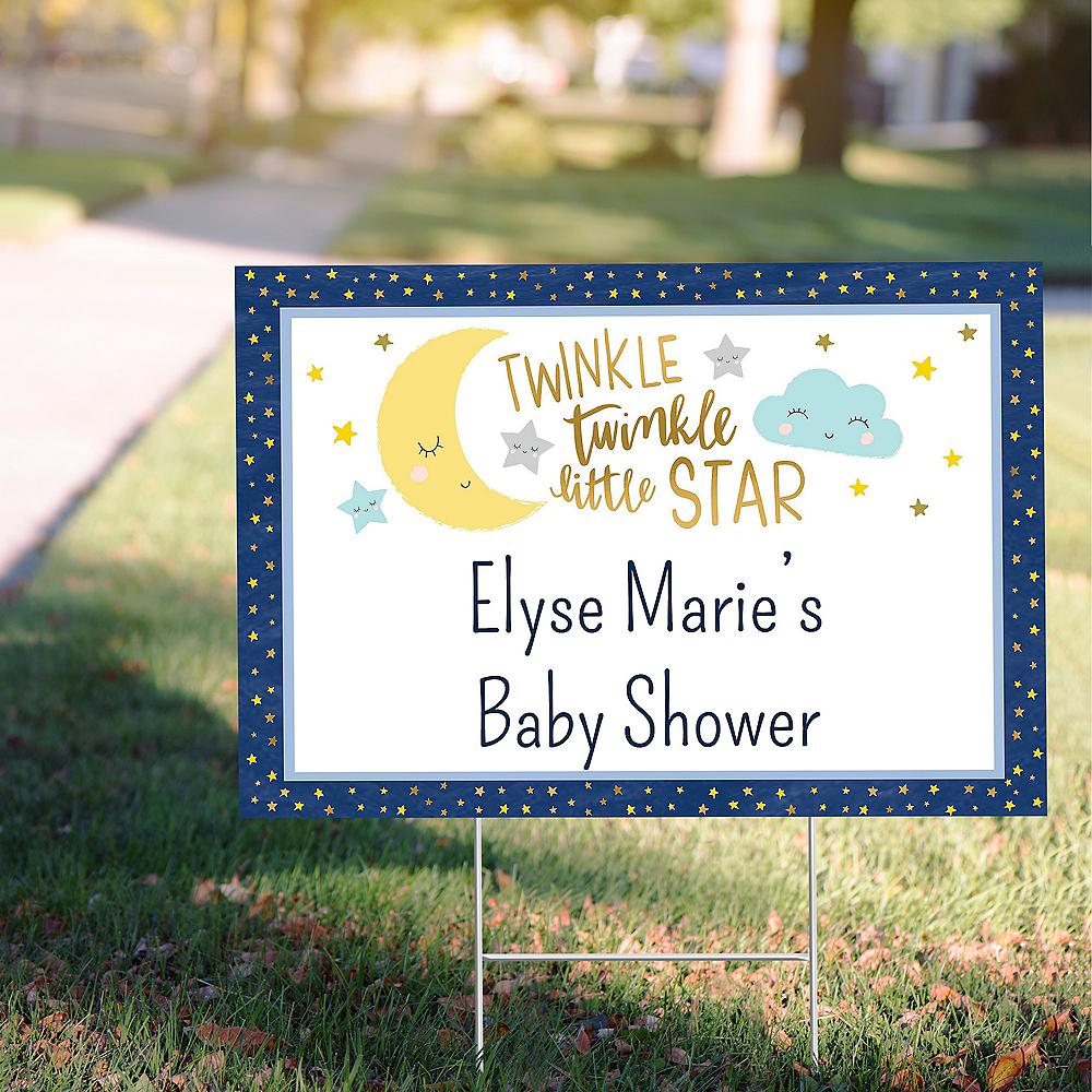 Custom Twinkle Twinkle Little Star Yard Sign Image #1