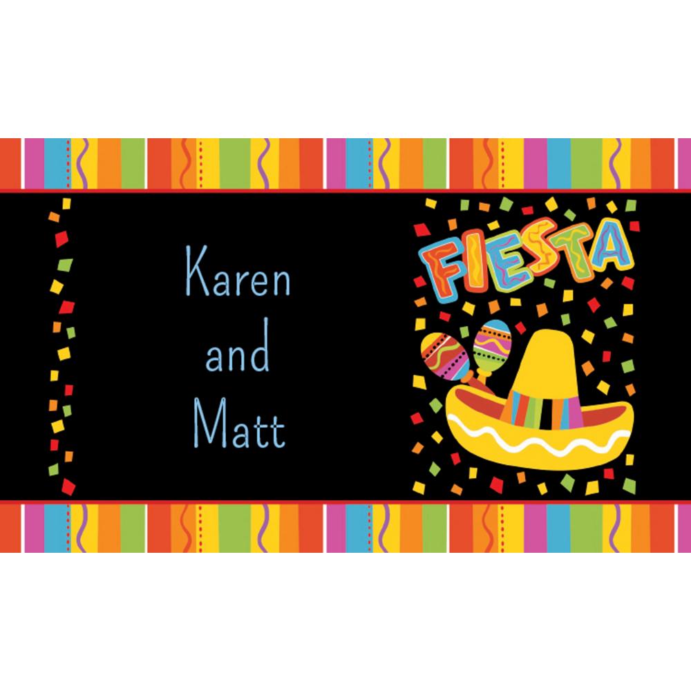 Custom Fiesta Fun Thank You Notes Image #1