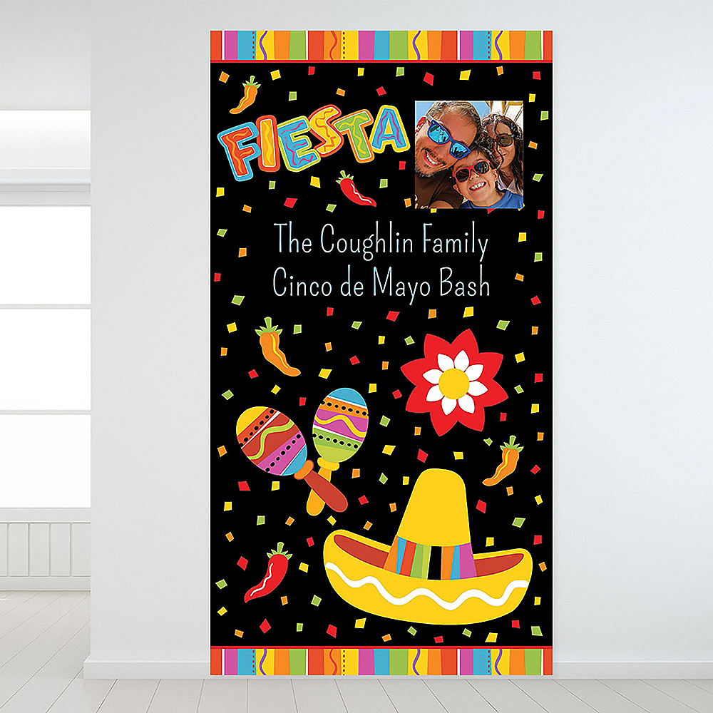 Nav Item for Custom Fiesta Fun Photo Backdrop Image #1
