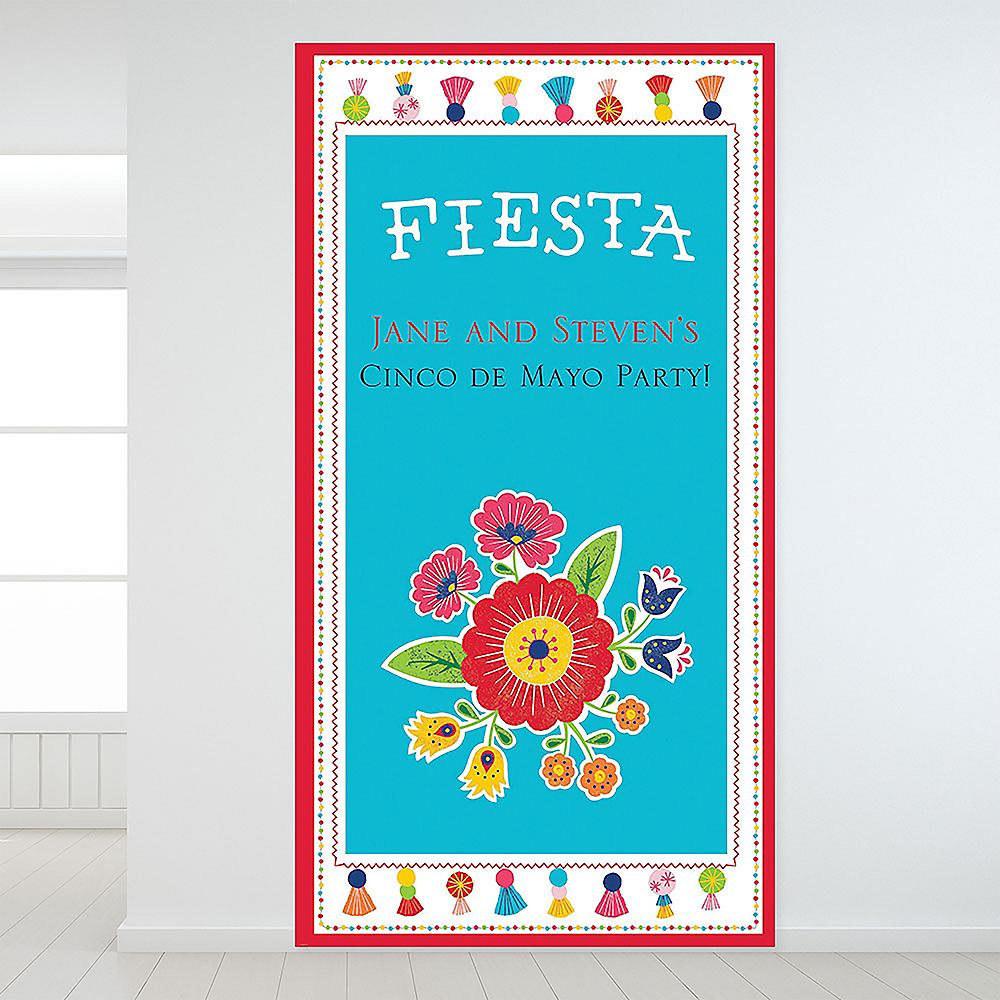 Custom Fiesta Time Backdrop Image #1