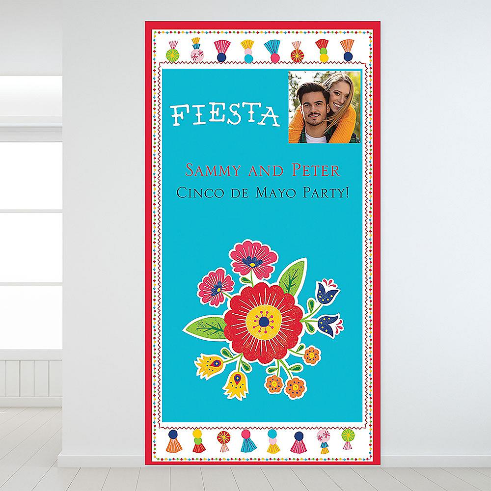 Custom Fiesta Time Photo Backdrop Image #1