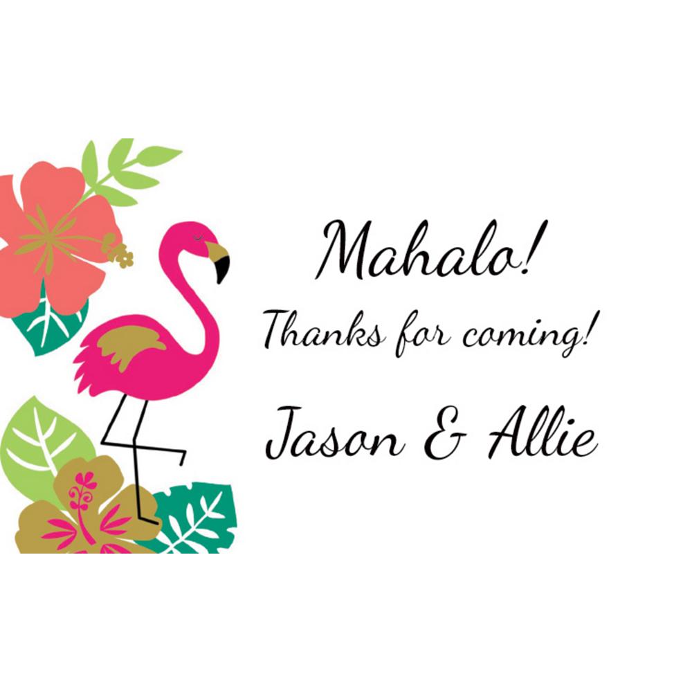 Custom Aloha Thank You Notes Image #1
