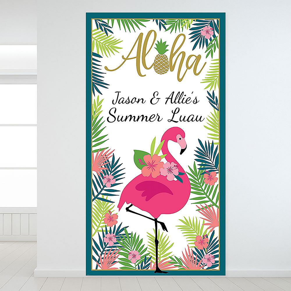 Custom Aloha Backdrop Image #1