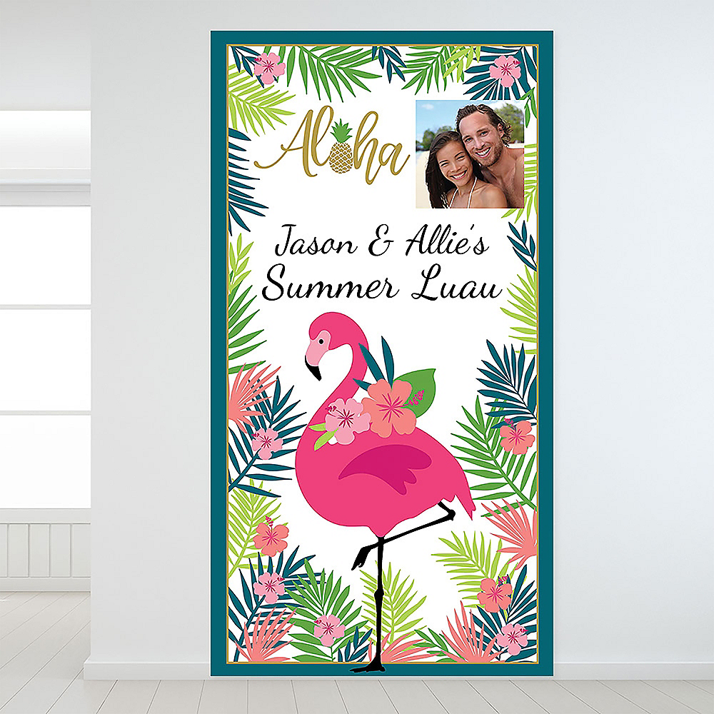 Custom Aloha Photo Backdrop Image #1