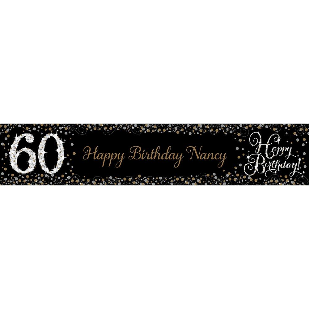Custom Sparkling Celebration 60 Table Runner Image #1