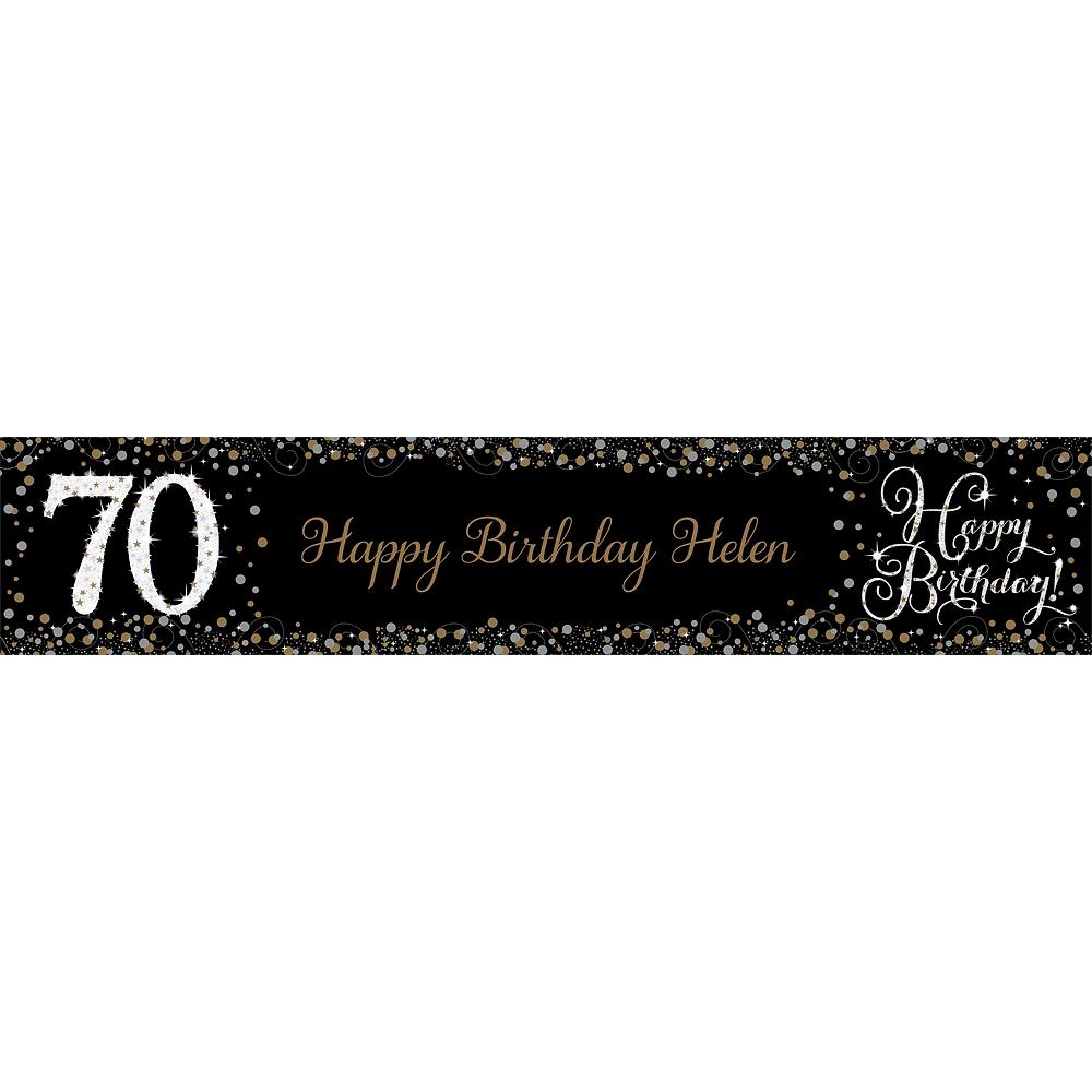 Custom Sparkling Celebration 70 Table Runner Image #1