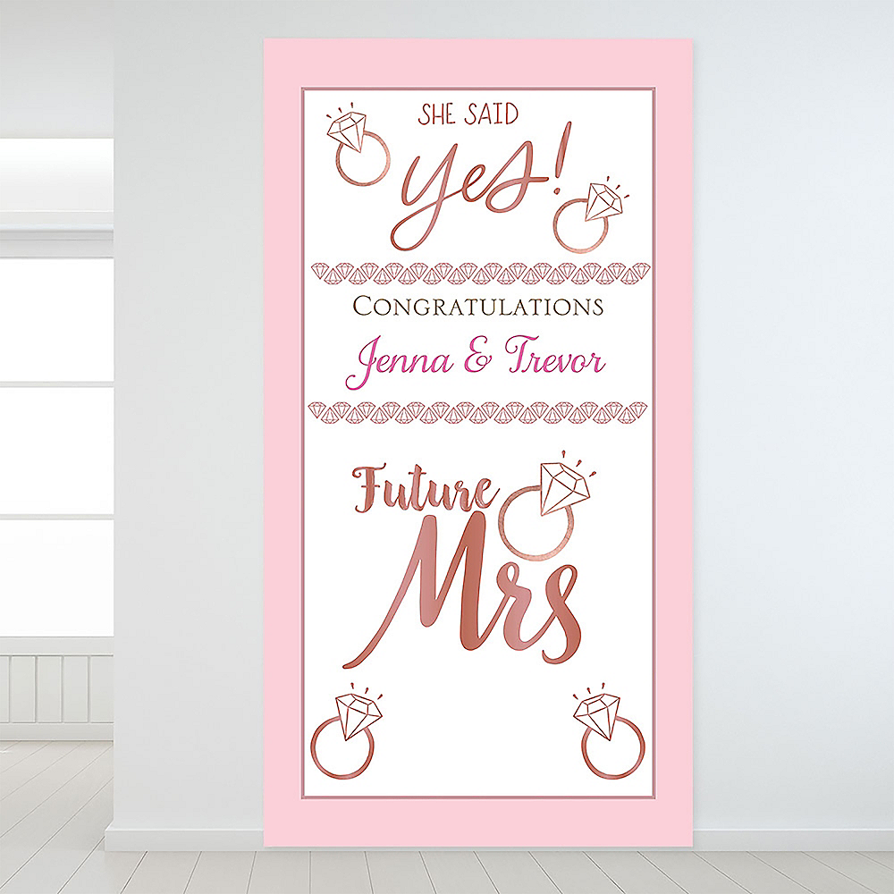 Custom Blush Wedding Backdrop Image #1