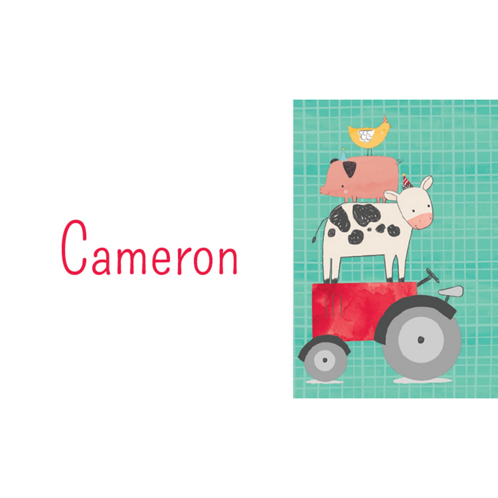 Custom Barnyard Thank You Notes Image #1