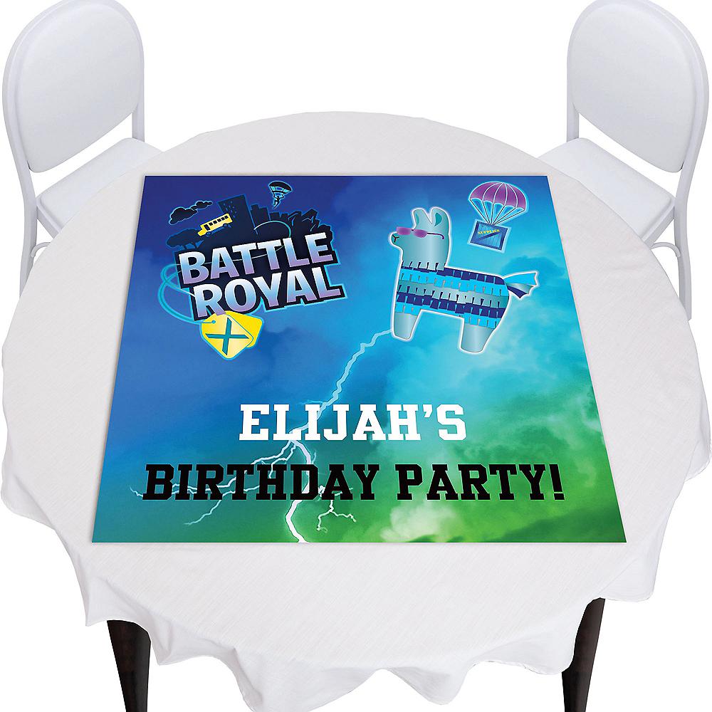 Custom Battle Royal Square Table Topper Image #1
