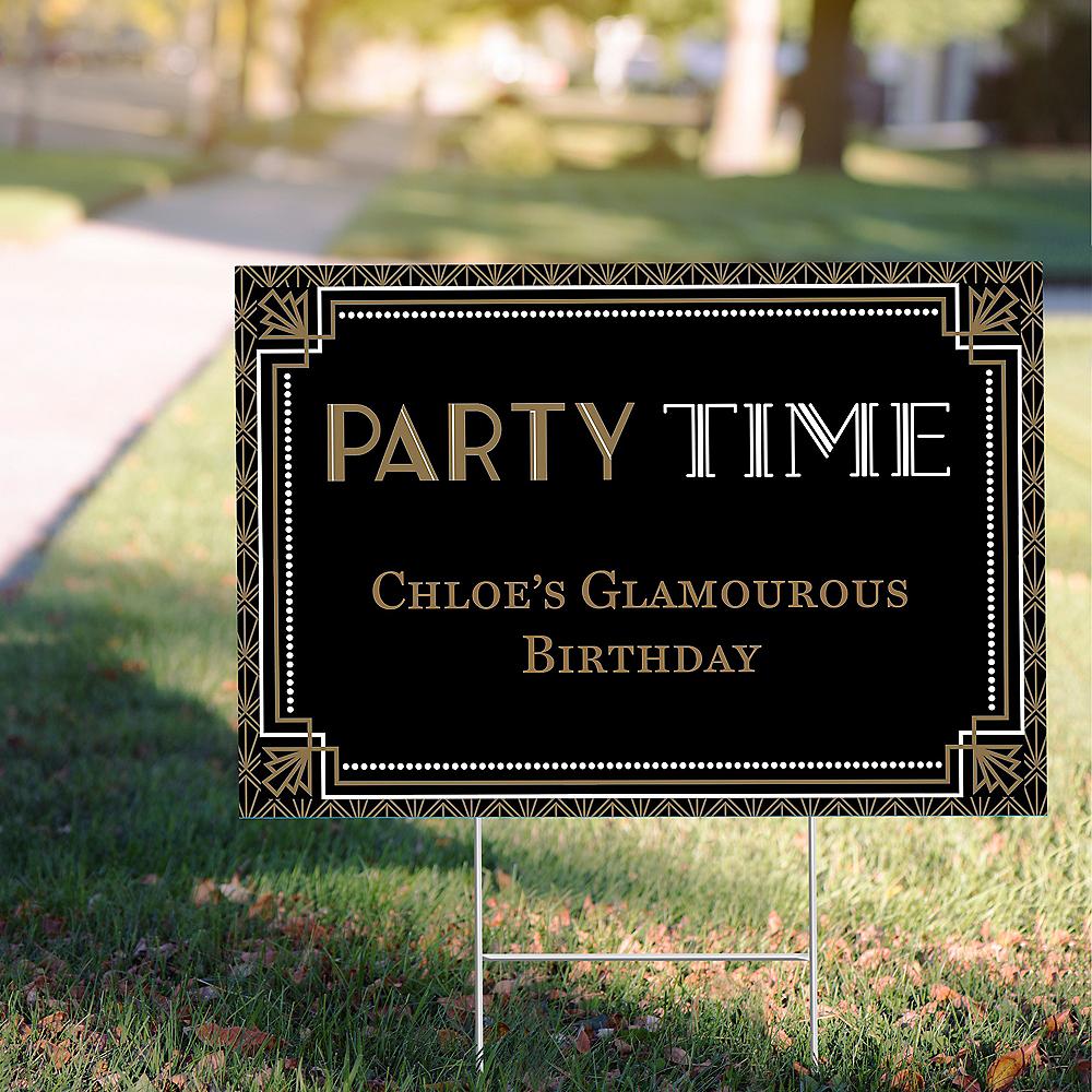 Custom Glitz & Glam Yard Sign Image #1