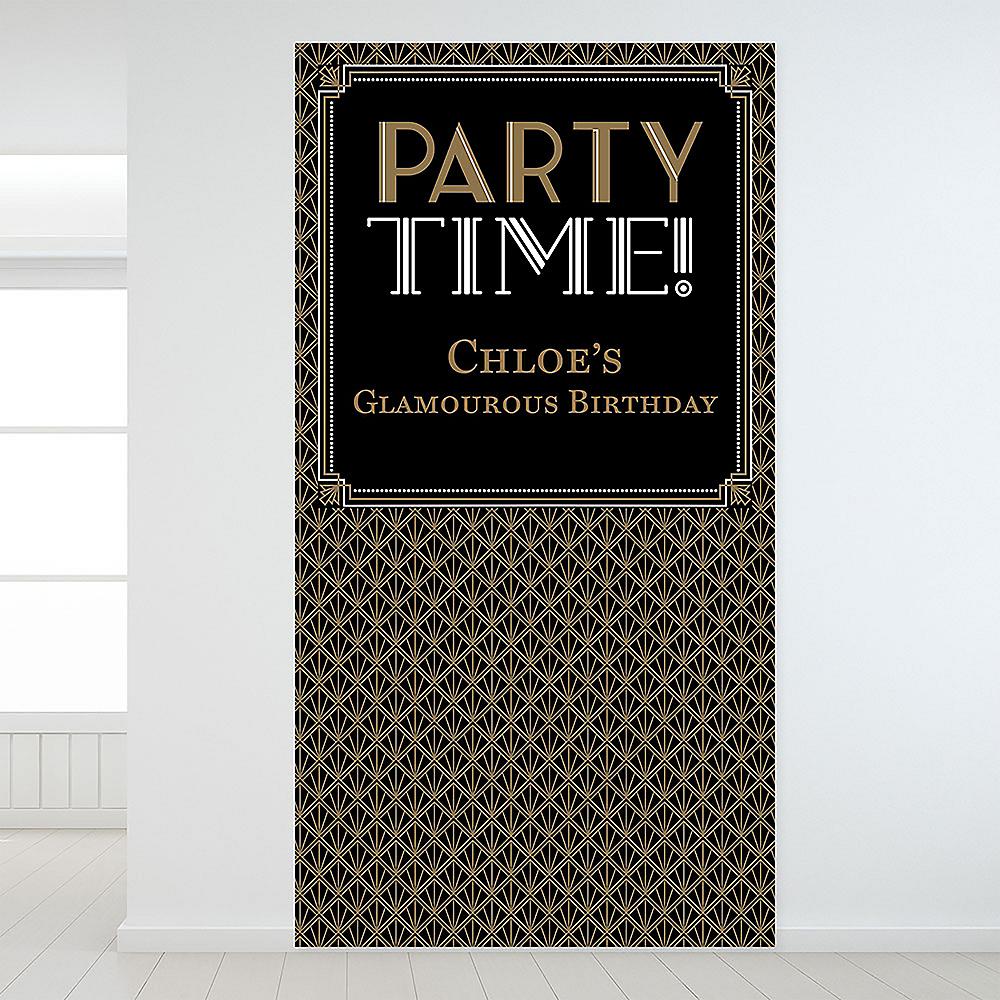 Custom Glitz & Glam Backdrop Image #1