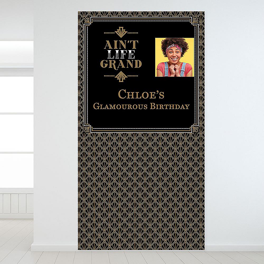 Custom Glitz & Glam Photo Backdrop Image #1