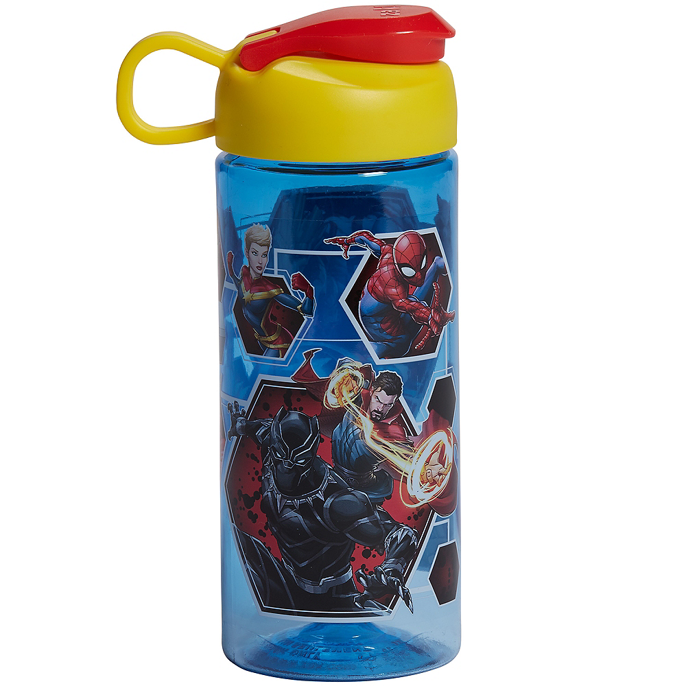 Avengers in Action Water Bottle Image #1