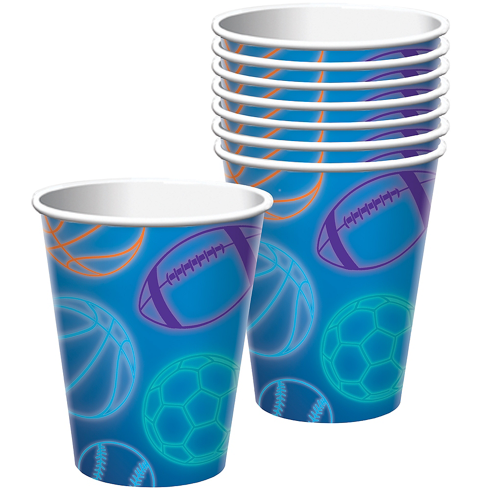 Birthday Baller Cups 8ct Image #1