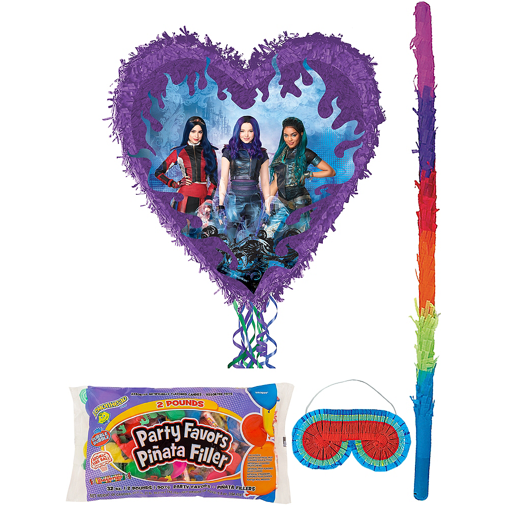 Pull String Descendants 3 Pinata Kit with Candy & Favors Image #1