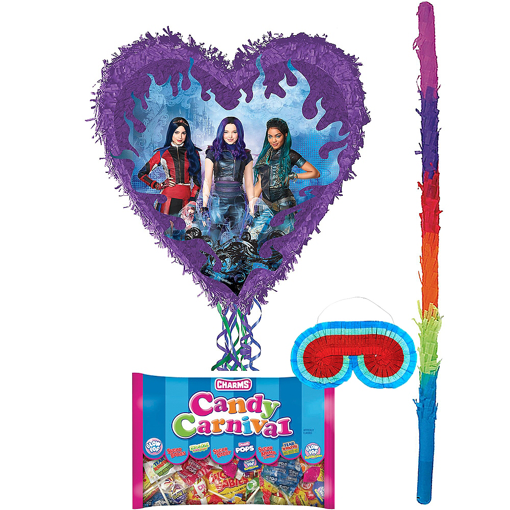 Descendants 3 Pinata Kit with Candy Image #1