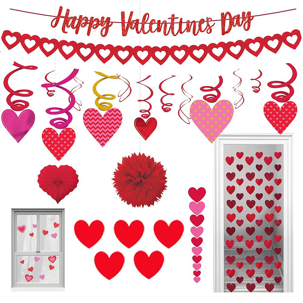 Valentine's Day Room Decorating Mega Value Pack Image #1