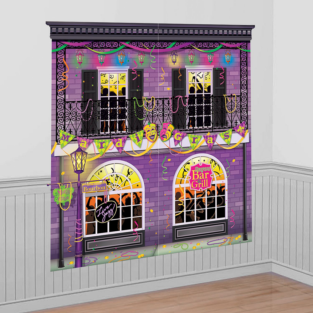 Mardi Gras Room Decorating Mega Value Pack Image #7