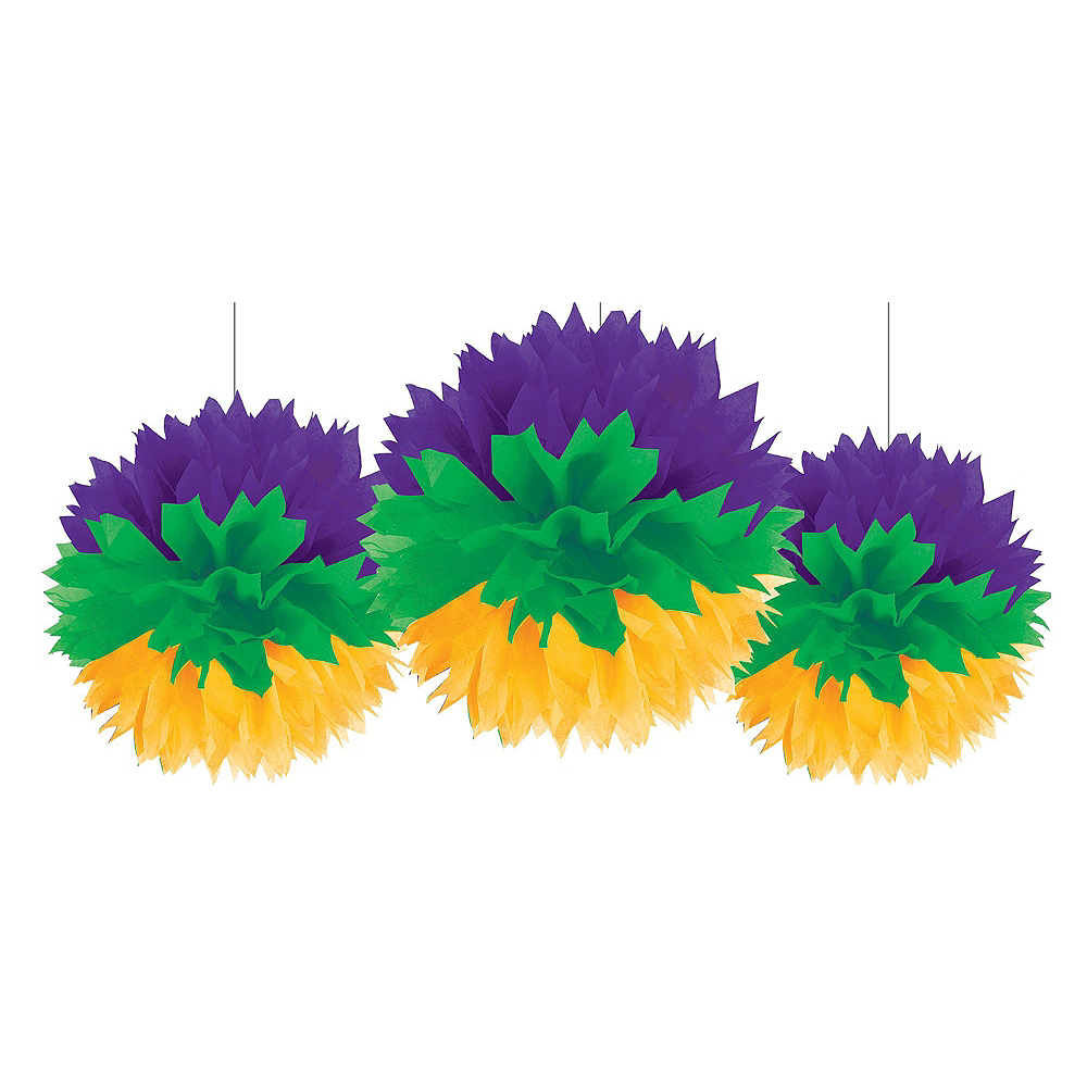 Mardi Gras Room Decorating Mega Value Pack Image #8