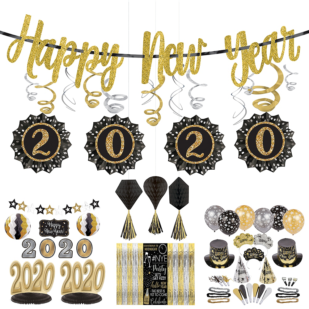 New Year's Eve Room Decorating Mega Value Pack