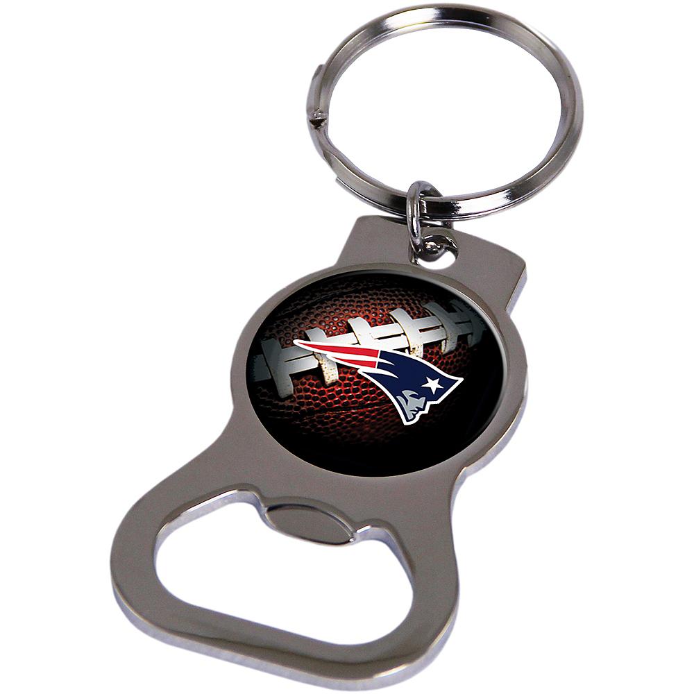 New England Patriots Bottle Opener Keychain Image #1