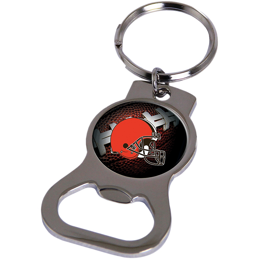 Nav Item for Cleveland Browns Bottle Opener Keychain Image #1