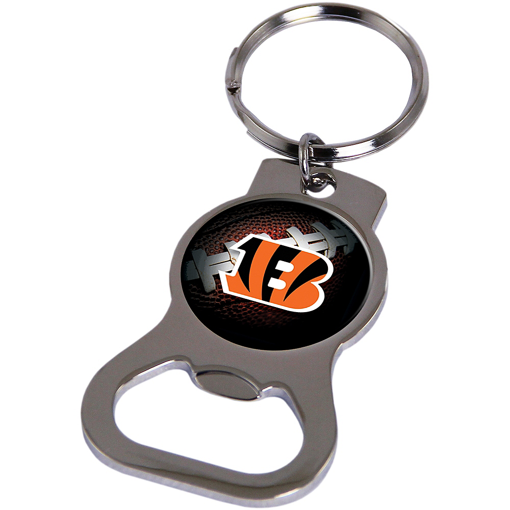 Nav Item for Cincinnati Bengals Bottle Opener Keychain Image #1