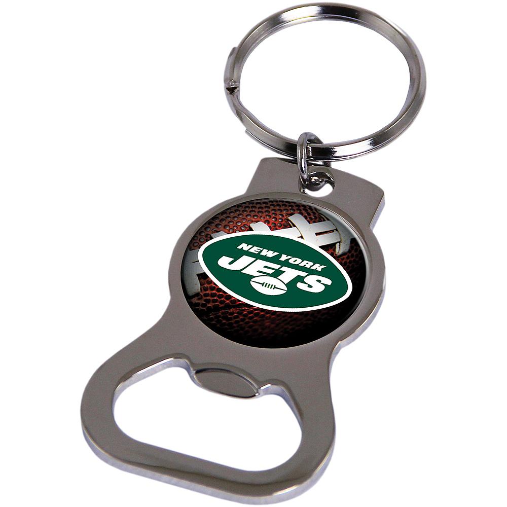 New York Jets Bottle Opener Keychain Image #1