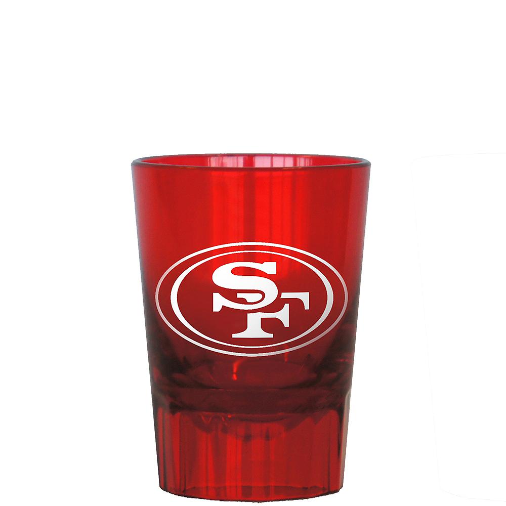 San Francisco 49ers Shot Glass Image #1