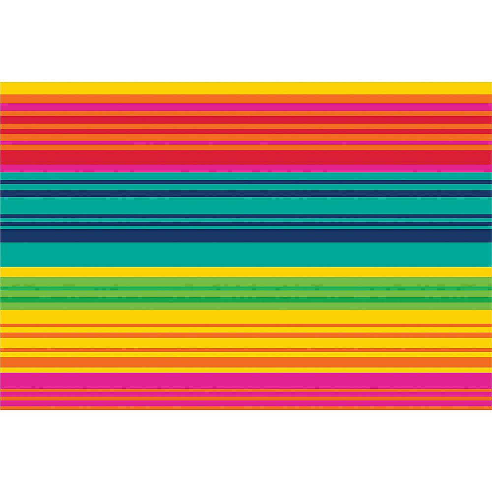 Serape Striped Woven Vinyl Placemat Image #1