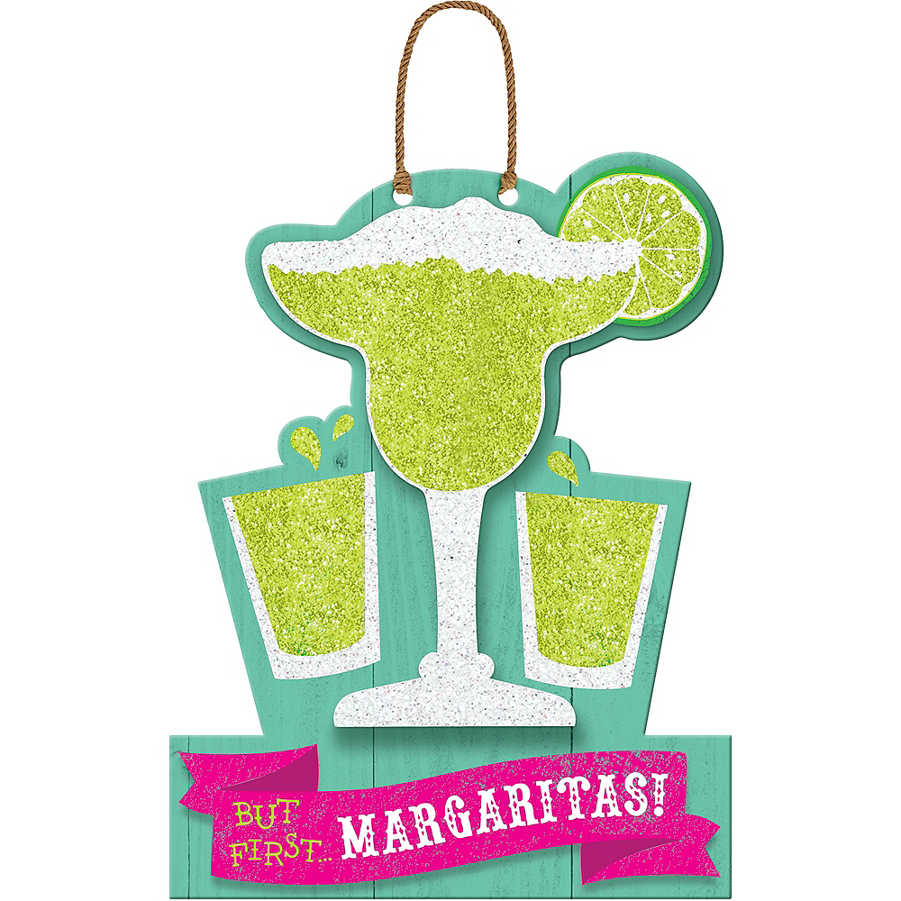 Glitter Margaritas First Sign Image #1