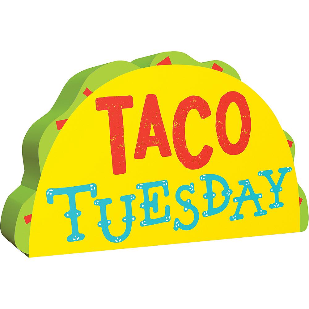 Taco Tuesday Block Sign Image #1