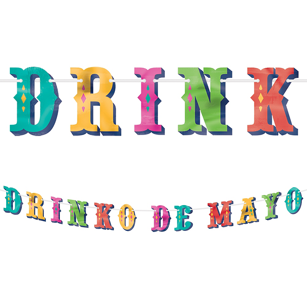 Nav Item for Drinko de Mayo Letter Banner Image #1