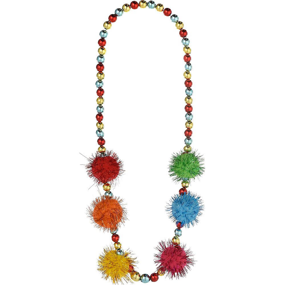Fiesta Pom-Pom Bead Necklace Image #1