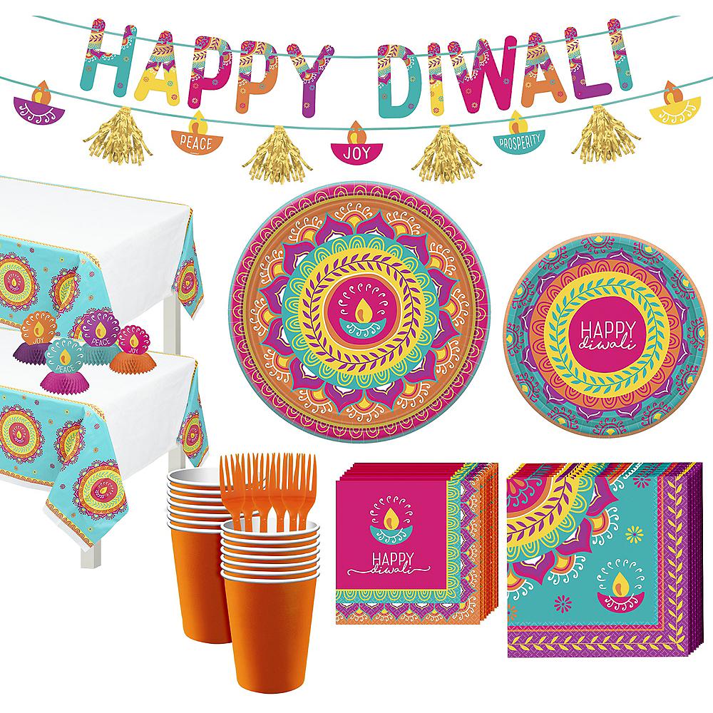 Diwali Tableware Kit for 16 Guests Image #1