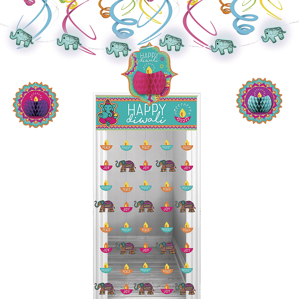 Diwali Door Decorating Kit 5pc Image #1