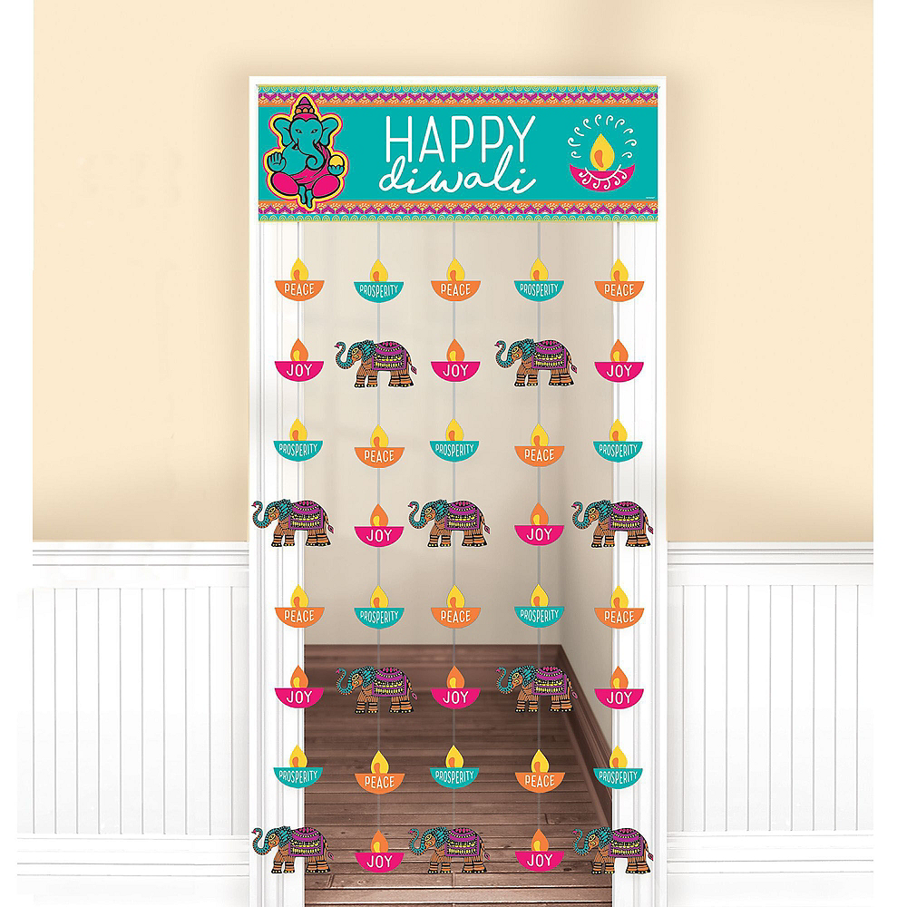 Diwali Door Decorating Kit 5pc Image #4