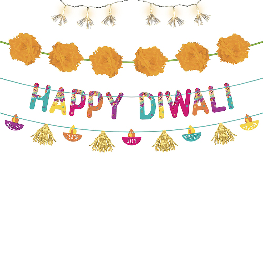 Diwali Outdoor Decorating Kit 53pc Image #1
